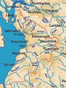 Ayrshire.rivers.some.towns