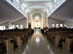 Co-Cathedral of St. Robert Bellarmine interior - Freehold, New Jersey 01