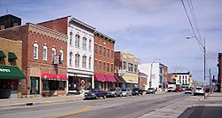 Downtown Bucyrus on South Sandusky Avenue