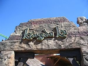 Kingda Ka sign