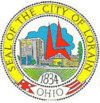 Official seal of Lorain, Ohio