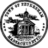 Official seal of Petersham, Massachusetts