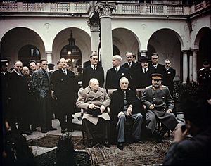 The Yalta Conference, Crimea, February 1945 TR2828