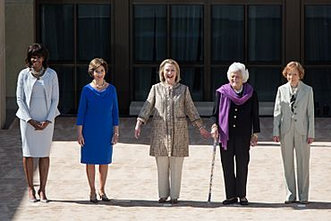 Five U.S. first ladies in 2013 crop
