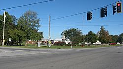 Main intersection at Pittsfield Center