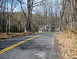 Intersection of Pleasant Valley Road and Reids Hill Road