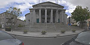 Tralee Courthouse Panorama, May 2015