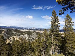 View of Eldora, CO