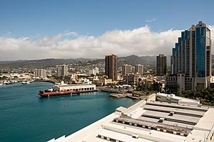 Waterfront District of Honolulu