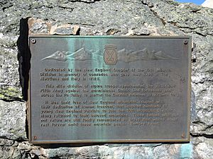 10th Mountain Division commemorative plaque