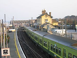A DART train in Greystones, County Wicklow - geograph.org.uk - 1811056