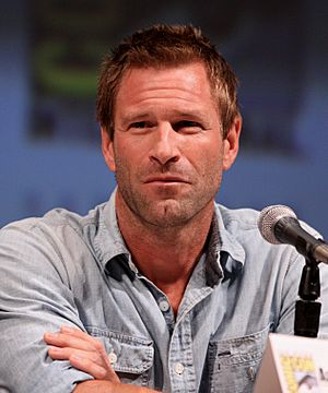 Aaron Eckhart by Gage Skidmore