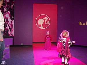 Barbie Runway at Children's Museum of Indianapolis