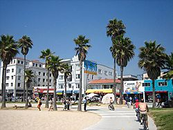 Venice Beach and Boardwalk