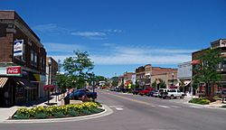 Main Street in downtown Brookings