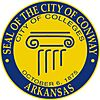 Official seal of Conway, Arkansas
