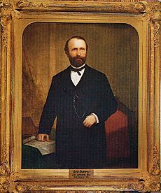 John G Downey by William F Cogswell, 1879