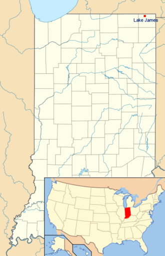 Location of Lake James (Indiana).png
