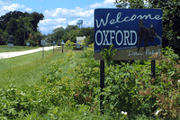Oxford, Indiana welcome