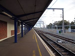 Palmerston North Train Station 8 August 2014