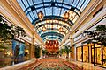 Shops in the Bellagio casino, Las Vegas