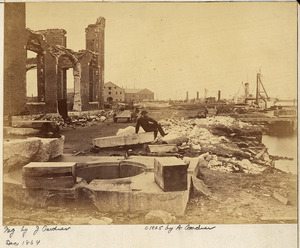 Virginia, Norfolk Navy Yard, Ruins of - NARA - 533292