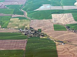 Aerial view of Wasco