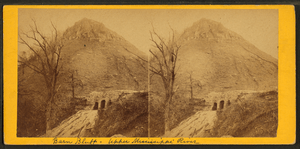 Barn bluff, upper Mississippi river, by Upton, B. F. (Benjamin Franklin), 1818 or 1824-after 1901
