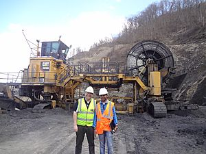 Caterpillar Highwall Mine HW300
