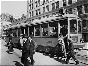 Class 1 Streetcar 5th and Broadway-San Diego-1915