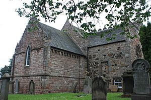 Duddingston Kirk from the north-east