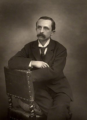 J.M. Barrie by Herbert Rose Barraud, 1892