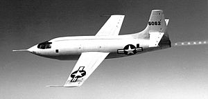 X-1-1 In Flight - GPN-2000-000134