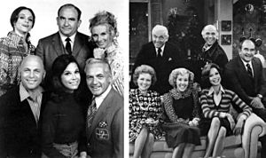 Mary Tyler Moore cast 1970 1977