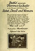 Saint, Devil and Woman