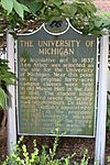 University of Michigan historical marker Ann Arbor Michigan.JPG