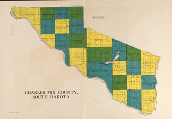 Charles Mix County townships (1931)