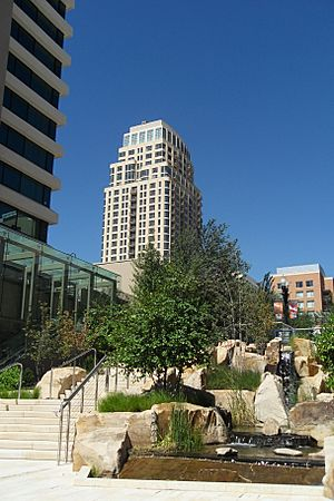 City Creek Center - Richards Street south entrance - 12 September 2012