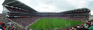 Croke Park from the hill