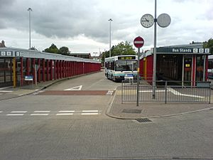 Leigh bus station