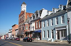 Conococheague Street in Williamsport in 2007