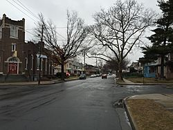Greenwood Avenue (New Jersey Route 33) in Wilbur