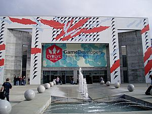 Outside of Game Developers Conference 2004