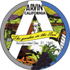 Official seal of Arvin, California