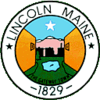 Official seal of Lincoln, Maine