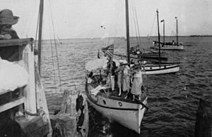 StateLibQld 1 131803 Opening the Sandgate Sailing Club in 1922