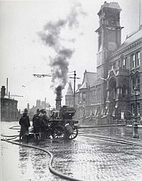 Steam Pump Truck for Firefighting StHelens1913
