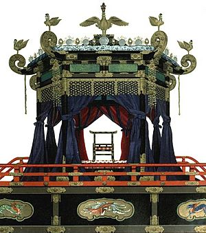Taisho enthronement