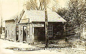 The First Post Office, Greenfield, MA