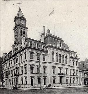U. S. Courthouse and Post Office, Des Moines, Iowa 1901